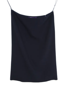 Ralph Lauren Navy Wool Skirt 1
