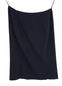 Ralph Lauren Navy Wool Skirt 2
