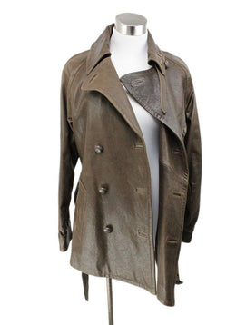 Ralph Lauren Brown Leather Jacket 1