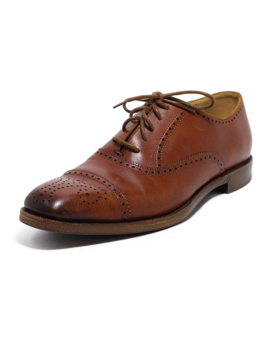 Ralph Lauren Brown Leather Oxfords 1