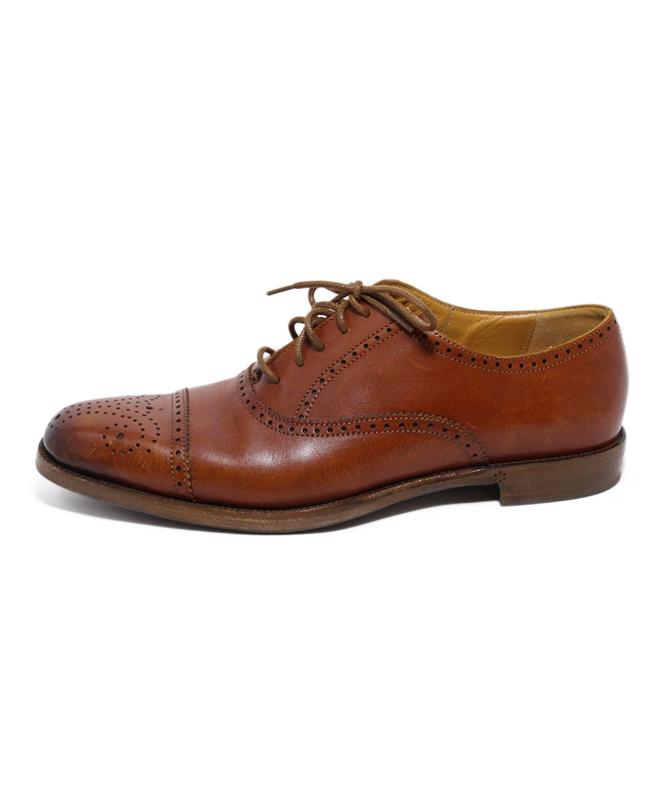 Ralph Lauren Brown Leather Oxfords 2