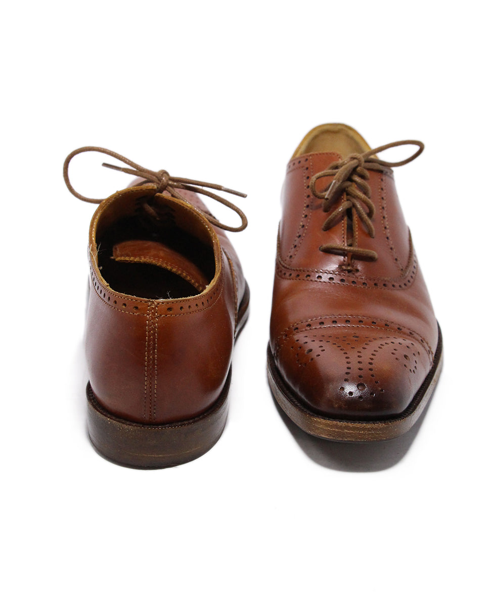 Ralph Lauren Brown Leather Oxfords 3