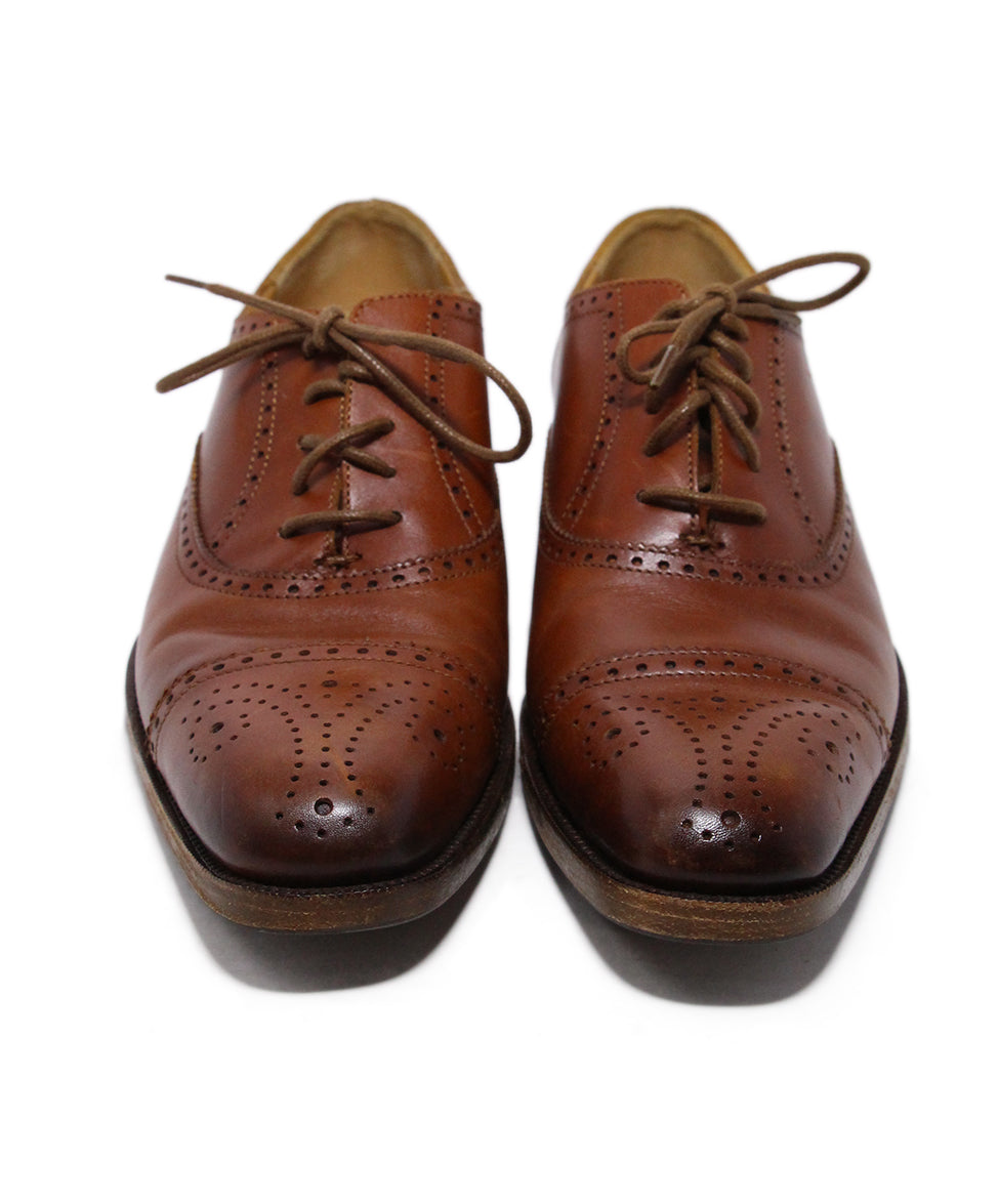 Ralph Lauren Brown Leather Oxfords 4