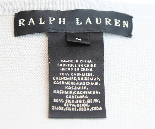 Ralph Lauren Grey Cashmere Sweater 4