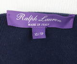 Ralph Lauren Navy White Cotton Sweater 4