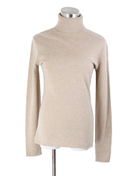 Ralph Lauren Tan Cashmere Sweater Sz 8
