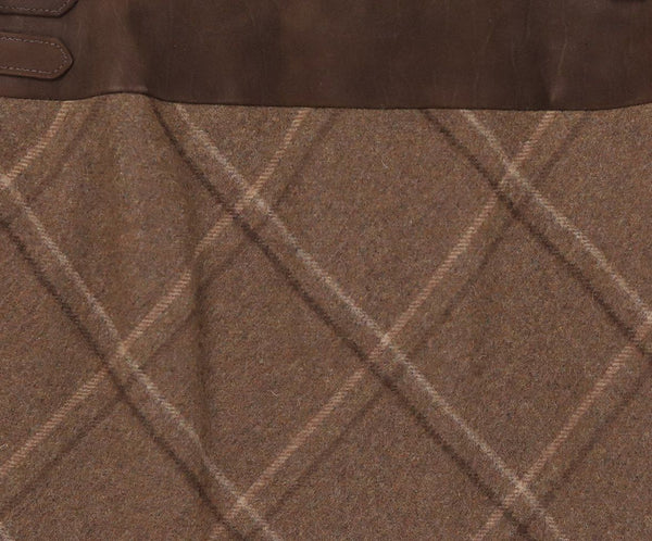 Ralph Lauren Neutral Plaid Skirt 4