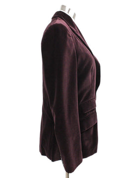 Ralph Lauren Purple Velvet Plum Jacket 2