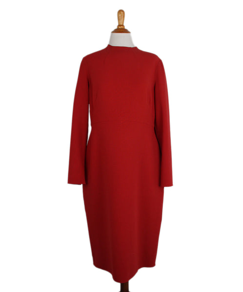 Ralph Lauren Red Dress 1