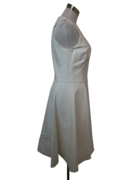 Ralph Lauren White Cotton Sleeveless Dress 2