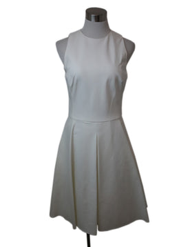 Ralph Lauren White Cotton Sleeveless Dress 1