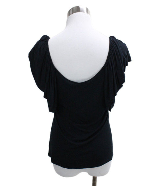 Ralph Lauren Black Cotton Spandex Top 2