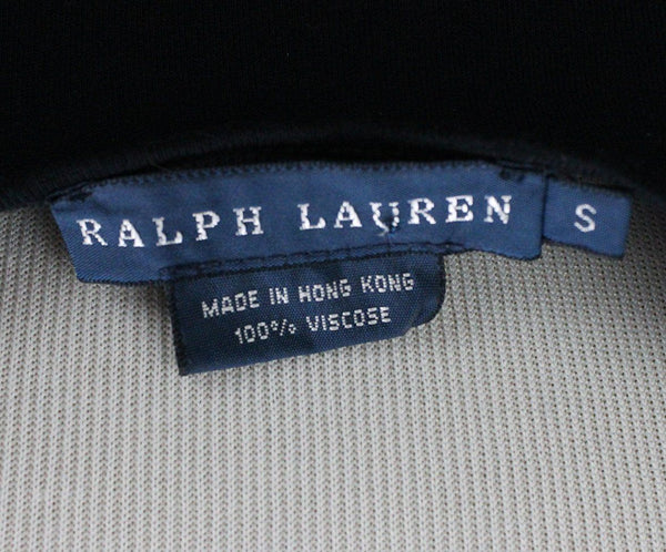 Ralph Lauren Black Cotton Spandex Top 3
