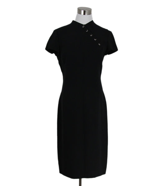 Ralph Lauren Black Silk Dress 1