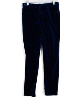 Ralph Lauren Electric Blue Velvet Pants 1