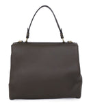 Ralph Lauren Brown Olive Leather Satchel Handbag 3