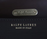 Ralph Lauren Brown Olive Leather Satchel Handbag 7