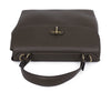Ralph Lauren Brown Olive Leather Satchel Handbag 5