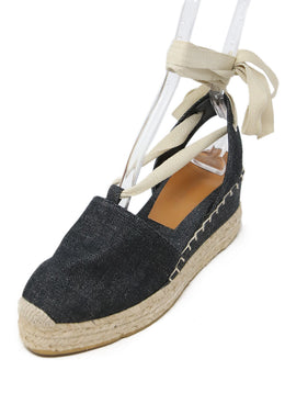 Ralph Lauren Dark Denim Espadrilles Shoes 1