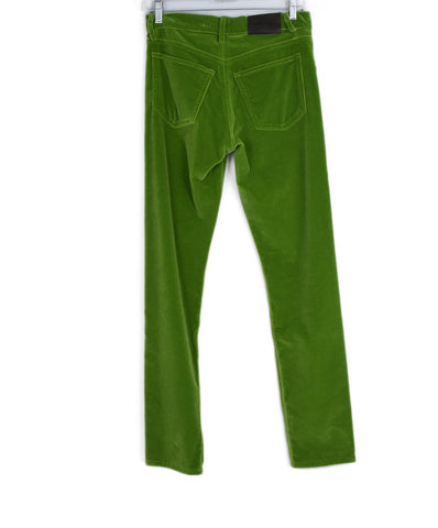 Ralph Lauren Lime Velvet Pants 1