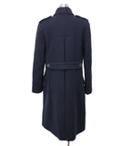 Ralph Lauren Navy Wool Coat Sz 8