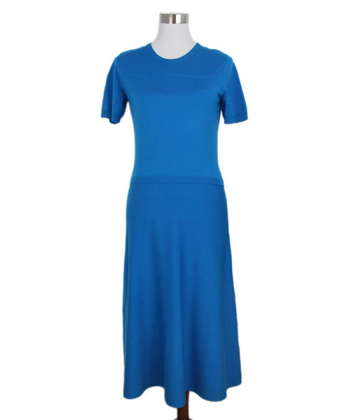 Ralph Lauren turquoise wool dress 1