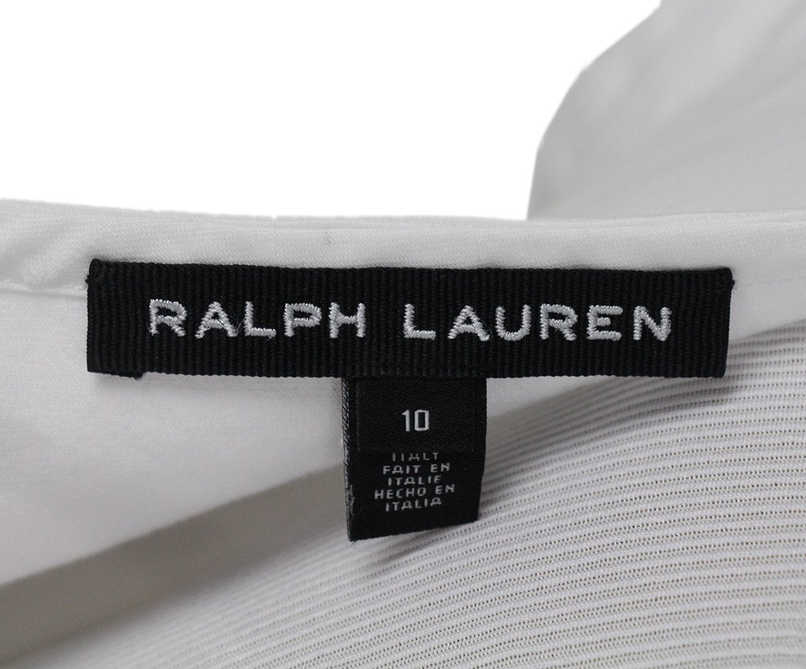 Ralph Lauren white cotton dress 4