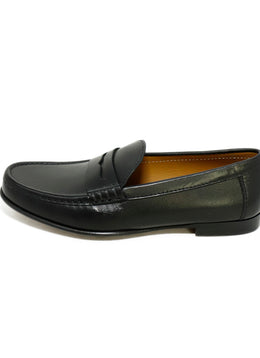 Ralph Lauren Black Leather Shoes Loafers 2