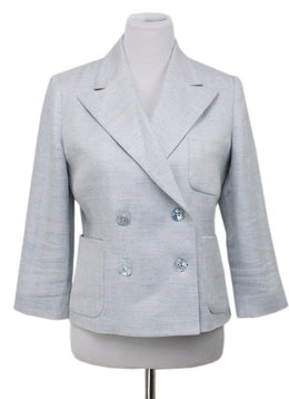 Ralph Lauren Light Blue Linen Blazer
