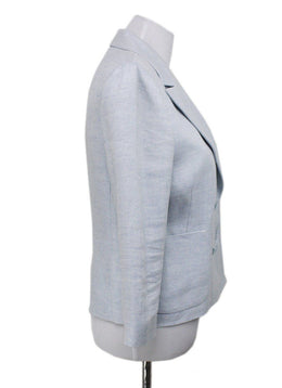 Ralph Lauren Light Blue Linen Blazer 1