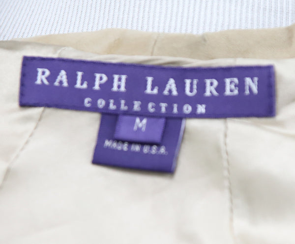 Ralph Lauren Neutral Beige Suede Cape 4