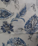 Ralph Lauren White Blue Print Silk Dress 4