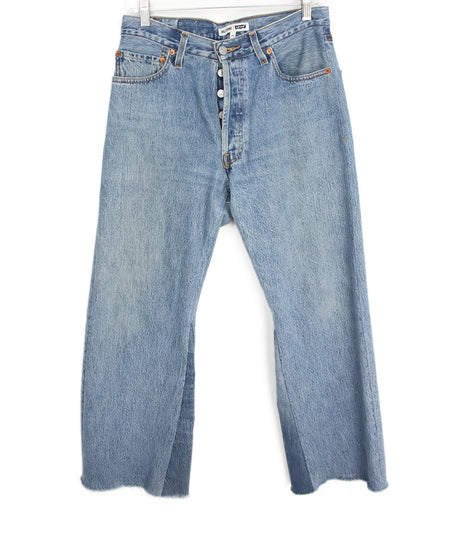 Seven Blue Denim Pants Sz 4