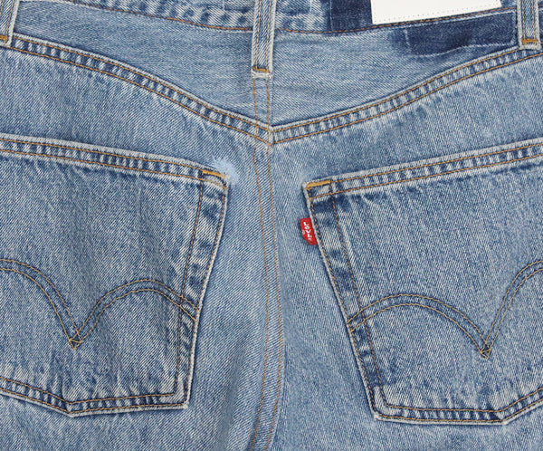 Re/Done Blue Denim Pants 5