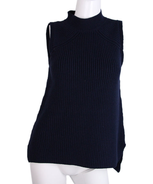 Rebecca Minkoff Navy Cotton Sweater 1