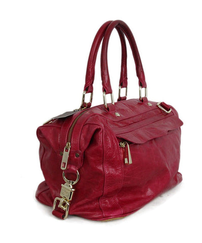 Rebecca Minkoff Pink Leather Satchel 1
