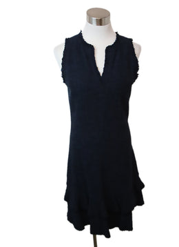 Rebecca Taylor Navy Cotton Dress 1