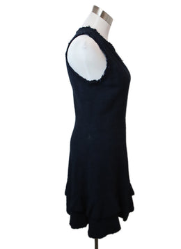 Rebecca Taylor Navy Cotton Dress 2