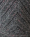 Rebecca Taylor Black White Pink Cotton Tweed Dress 5