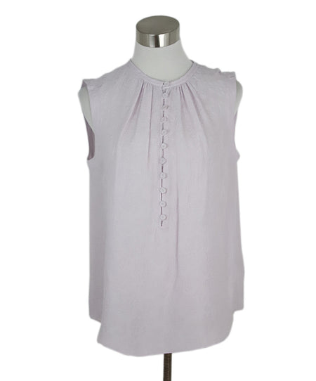 Rachel Zoe White Cotton Top Sz L