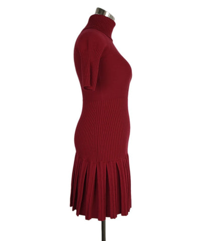 Red Valentino Red Wool Dress 1