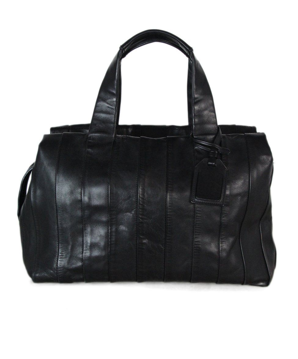 Reed Krakoff Black Leather Shoulder Bag 1