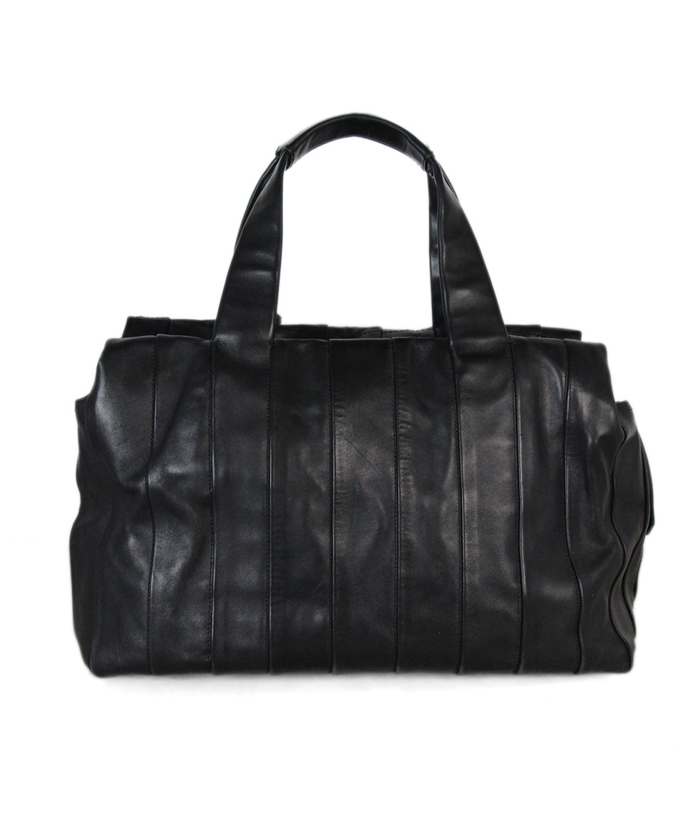 Reed Krakoff Black Leather Shoulder Bag 3