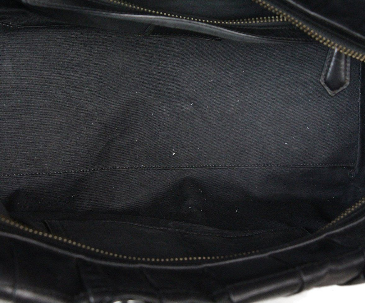 Reed Krakoff Black Leather Shoulder Bag 6
