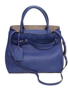 Reed Krakoff RK40 Blue Leather Tote 7