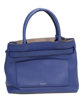 Reed Krakoff RK40 Blue Leather Tote