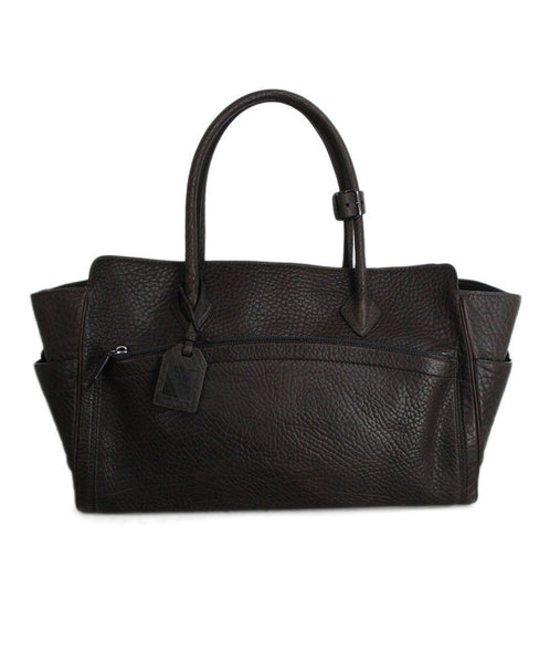 Reed Krakoff Brown Grained Leather Tote 1