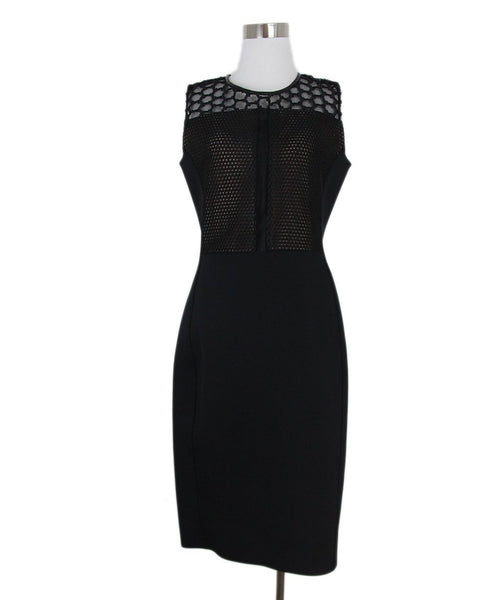 Reed Krakoff black net trim dress 1