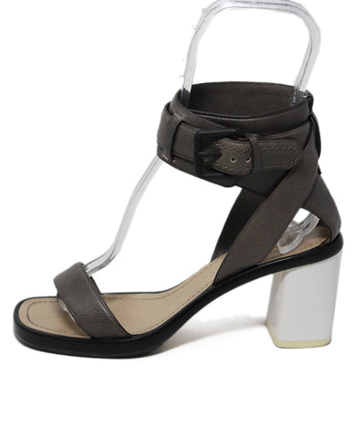 Reed Krakoff Grey Leather Sandals 1