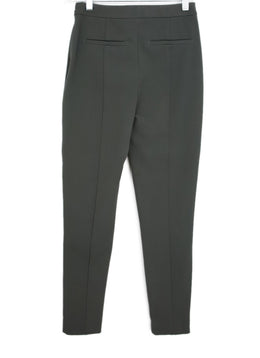 Reiss Green Cotton Olive Pants 2